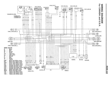 wiring diagram for the dr350 s 1990 and later models