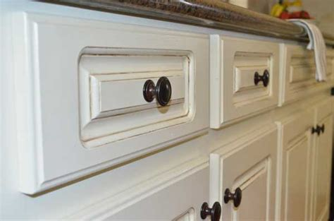 Painted And Glazed Kitchen Cabinets by Ideas For Painted Kitchen Cabinets Rustic Crafts Amp Chic