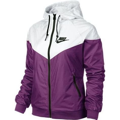 Jaket Nike Windrunner Pink Black Jpr055 nike windrunner s jacket windbreaker hoodie purple