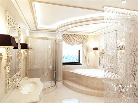 Small Bathroom Interior Design royal interior design by antonovich design antonovich