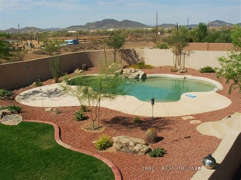 desert landscaping around pool » Design and Ideas