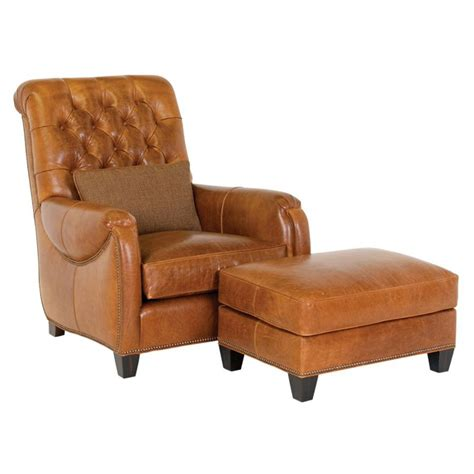 Classic Leather Chair And Ottoman Design Ideas Classic Leather 8211 8210 Sullivan Chair And Ottoman Discount Furniture At Hickory Park