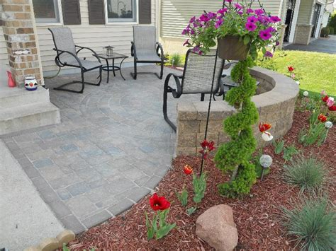 Patio Ideas For Front Yard Landscape Contractor Woodbury Mn Design Hardscapes