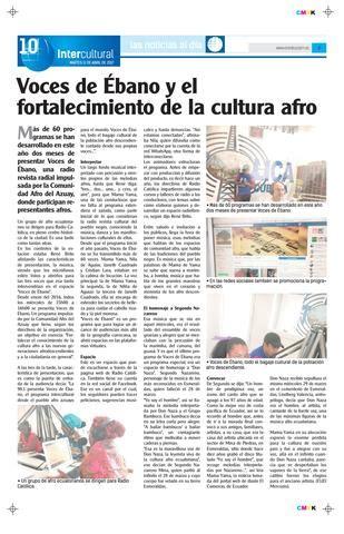 revista ebano 6a edicin by revista ebano issuu 11abril2017 9828 by diario cr 243 nica issuu