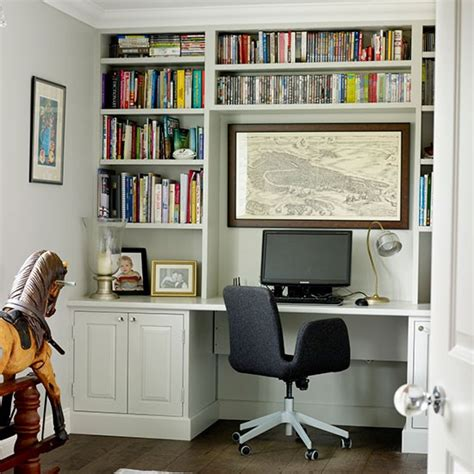 Home Office Desks With Storage Home Office Desk Storage Traditional Storage Ideas Housetohome Co Uk