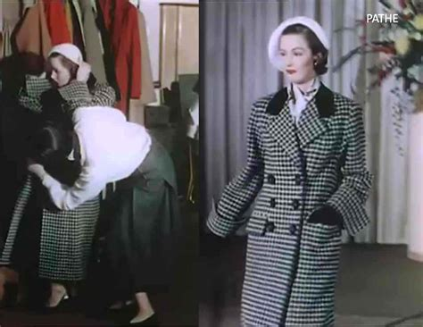 show in color 1950s fashion show in color 1951 glamourdaze