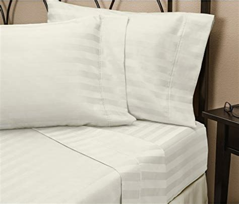 top quality sheets hotel luxury striped bed sheets set sale today only 1