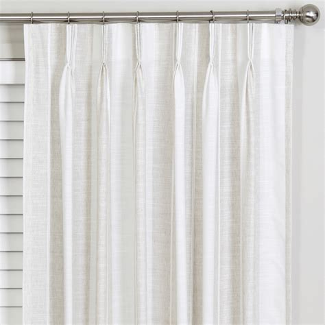spotlight continuous curtaining buy woolhara sheer pinch pleat curtains 250cm online