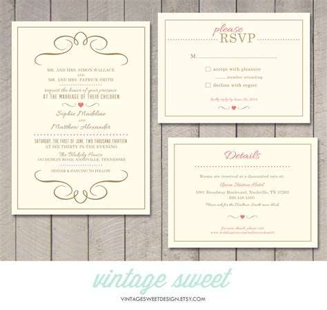 Wedding Invitation Info Card by Modern Wedding Invitation Rsvp Information Card Printable