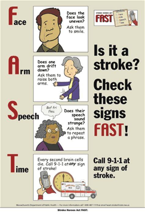 stroke symptoms stroke signs and symptoms mybraintest