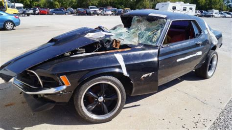 used 1970 mustang parts 1970 ford mustang base hardtop 2 door 5 0l junk title