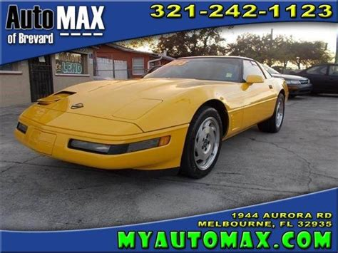 pelham court motors 1995 chevrolet corvette for sale carsforsale