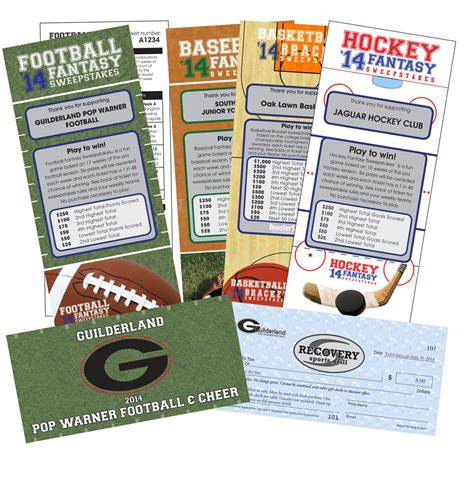 Sports Sweepstakes - for fundraisers boostershot fundraising