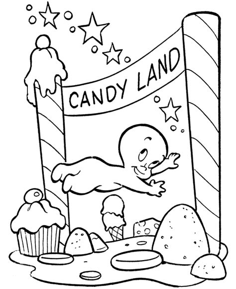 free candyland coloring pages candyland coloring pages