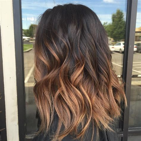 60 chocolate brown hair color ideas for brunettes caramel ombre ombre and caramel