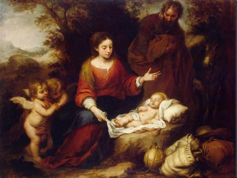 imagenes bellas del nacimiento de jesus file murillo descanso en la huida a egipto jpg wikimedia