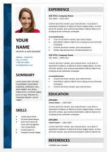 cv format ppt - Powerpoint Resume Template