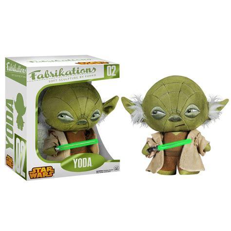 Funko Yoda Fabrikations 4061 wars yoda quot fabrikations quot peluche 15 cm funko fk4061