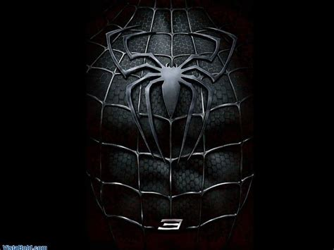 wallpaper black spiderman hd spiderman logo wallpapers wallpaper cave