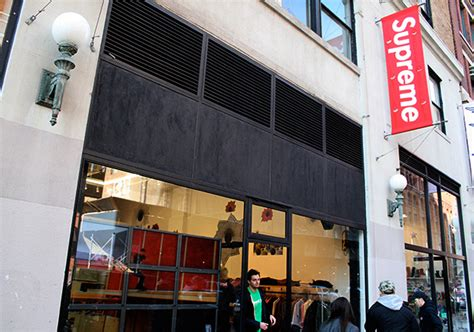 supreme new york store supreme nyc employee accidentally leaked upcoming nike