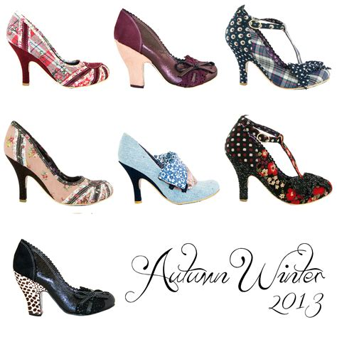 irregular choice new autumn winter 13 vintage retro