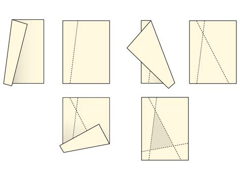 Paper Folding Math - paper folding math 28 images maths of paper folding