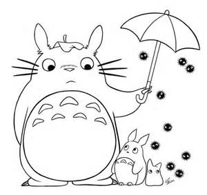totoro coloring pages 187 coloring pages kids