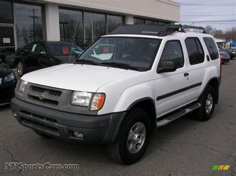 manual cars for sale 2000 nissan xterra navigation system 2000 nissan xterra se v6 4x4 in cloud white 544805 nysportscars com cars for sale in new york