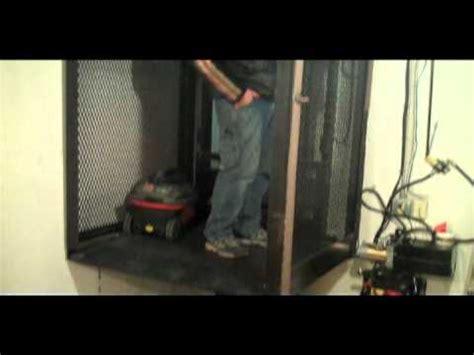 basement elevator kce basement elevator avi youtube