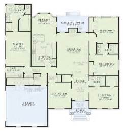 house plans with large bedrooms southern plan 2 486 square 4 bedrooms 3 bathrooms