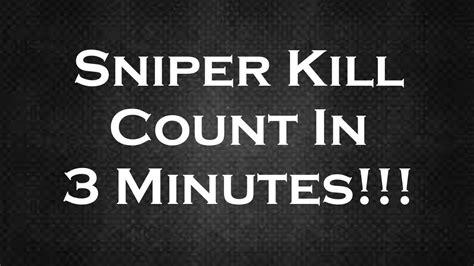 kill count respawnables sniper kill count