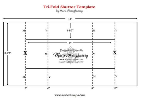 Z Fold Card Template by The World S Catalog Of Ideas