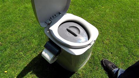 toilette ohne wasser eimertoilette f 252 r garten cing toilette ohne wasser