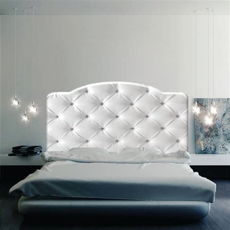 Wall Decal Headboards by Cushion Headboard Mural Decal Headboard Wall Decal