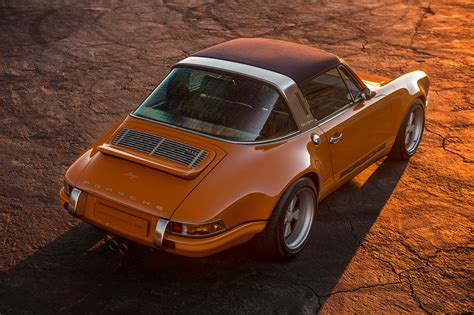singer porsche targa a lovely pair of porsche 911s by singer showed up at