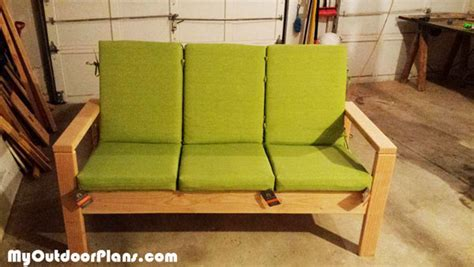 diy outdoor sofa myoutdoorplans  woodworking plans