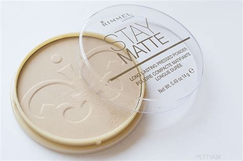 Rimmel Stay Matte Shade Transparan pettyair review rimmel stay matte powder