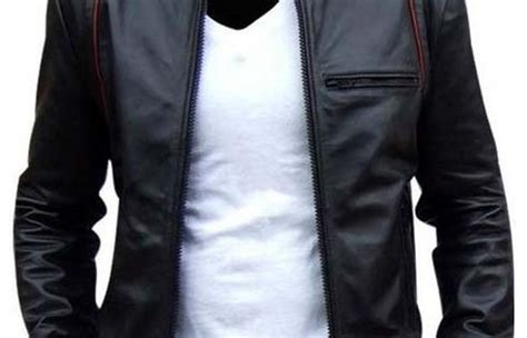 Jaket Kulit Sintetis Ziper Style Zip 026 leather jacket mens biker leather jacket motorcycle leather jacket fashion