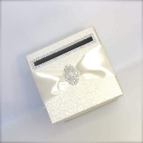 Wedding Box Handmade by Ivory Lace Wedding Card Holder Wedding Money Box Custom