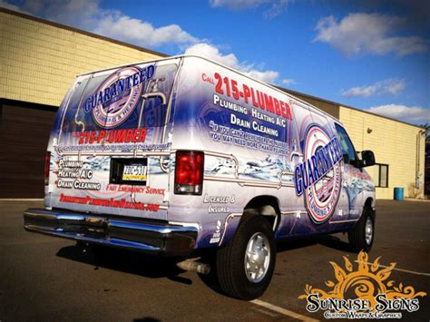 Spartan Plumbing And Heating by Guaranteed Plumbing And Heating Increases Fleet Branding