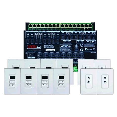 multi room audio and systems leviton 95a00 2 multi room audio kit 8 source 8 zone