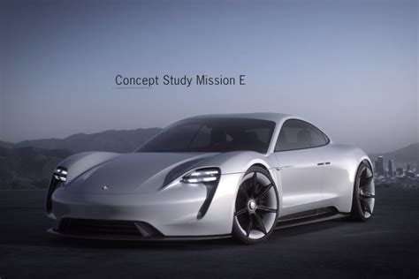 Porsche Electric Car by An Updated Look At Mission E The Porsche Electric Car