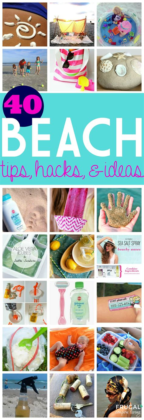 hacking ideas 40 beach tips and tricks hacks and ideas for your trip