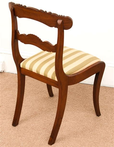 William Iv Dining Chairs Set Of 8 William Iv Dining Chairs At 1stdibs