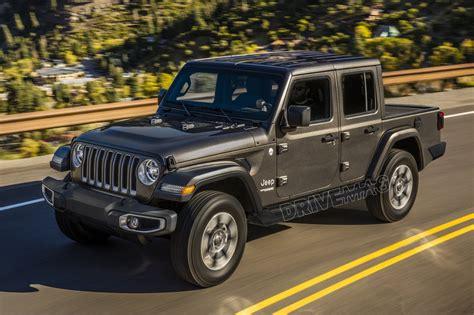 jeep truck 2019 jeep wrangler pickup rendering