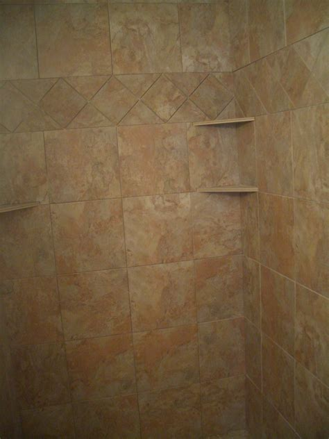 Ceramic Tile Shower Shelf by Ceramic Tile Shower Corner Shelf