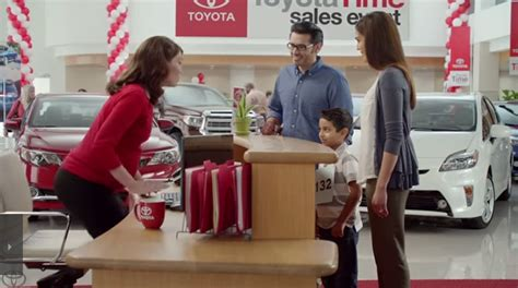 Toyota Commercial With Baby Motherly Toyota Jan Is In Real And
