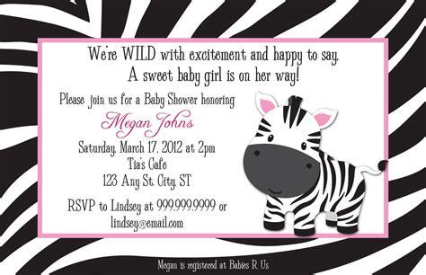 printable zebra baby shower invitations zebra digital baby shower or birthday invitation by