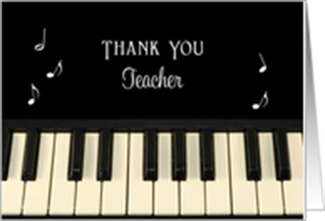 printable music thank you cards thank you music teacher cards from greeting card universe