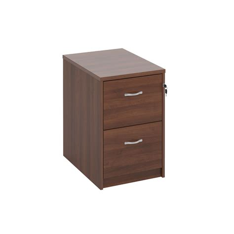 Cabinet Executive Dams Deluxe Executive Walnut Filing Cabinet